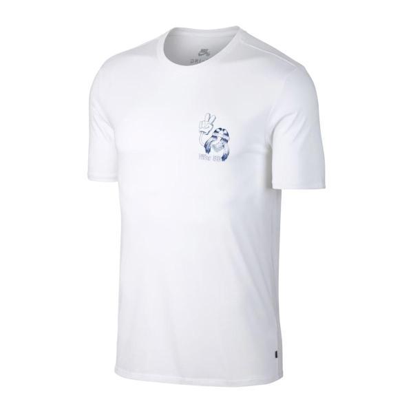 ナイキ NIKE Tシャツ SB ドライフィット BBALL デュード Tシャツ (WHITE/DEEP ROYAL BLUE) 17HO-I|chapter-ex