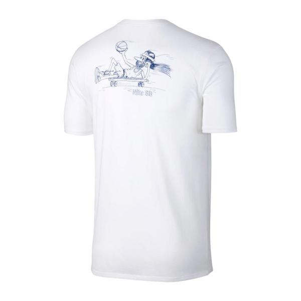 ナイキ NIKE Tシャツ SB ドライフィット BBALL デュード Tシャツ (WHITE/DEEP ROYAL BLUE) 17HO-I chapter-ex 02
