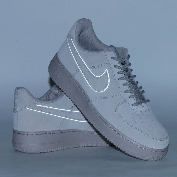 36671d2cda1 NIKE AIR FORCE 1  07 LV8 SUEDE (MOON PARTICLE MOON PARTICLE-SEPIA ...
