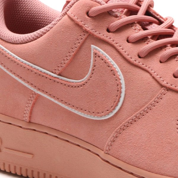 buy online 9bf34 0f83c ... NIKE AIR FORCE 1  07 LV8 SUEDE (RED STARDUST RED STARDUST-DRAGON ...
