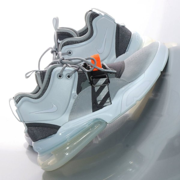NIKE AIR FORCE 270 (WOLF GREY/WHITE-DARK GREY-SAIL) 18SP-S|chapter-ex