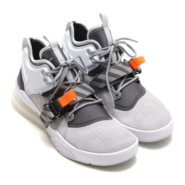 NIKE AIR FORCE 270 (WOLF GREY/WHITE-DARK GREY-SAIL) 18SP-S|chapter-ex|02