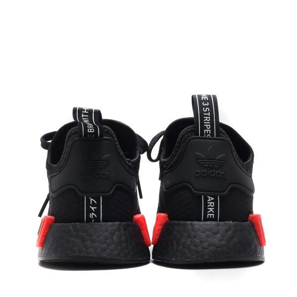 ab6486ce0 ... アディダス adidas Originals スニーカー エヌエムディR1 (CORE BLACK CORE BLACK RUSH RED゛