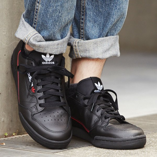 512e508e636 adidas Originals CONTINENTAL 80 (CORE BLACK SCARLET COLLEGIATE NAVY) 18FW-I  ...