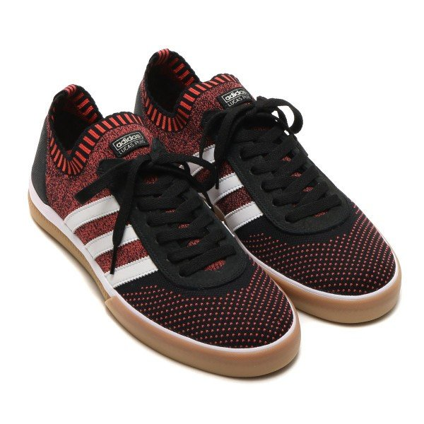 adidas Originals LUCAS PREMIERE PK (Core Black/Running White/Trace Scarlet) 18SS-I|chapter-ex|02