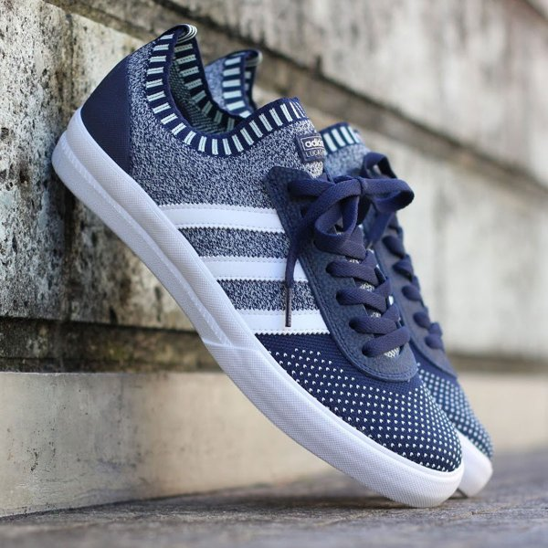 adidas Originals LUCAS PREMIERE PK (College Navy/Running White/Aero Green) 18SS-I|chapter-ex