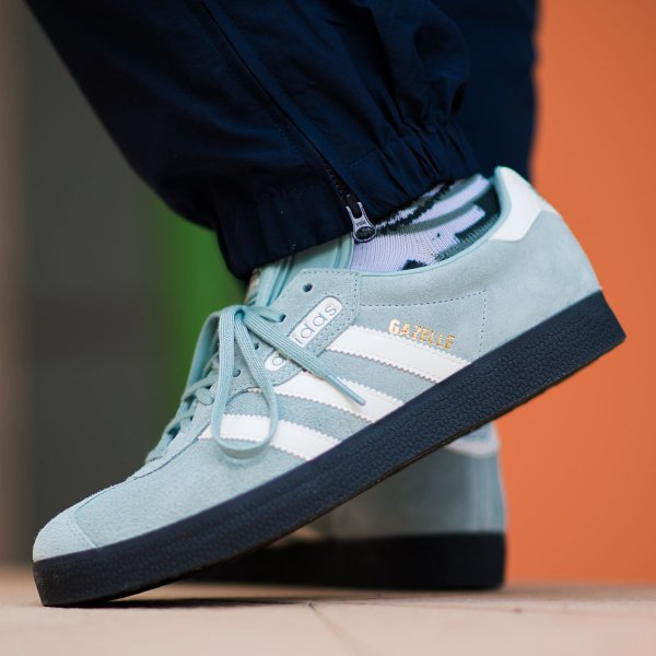 adidas Originals GAZELLE SUPER (Tactile Green/Off White/Carbon) 18SS-I|chapter-ex