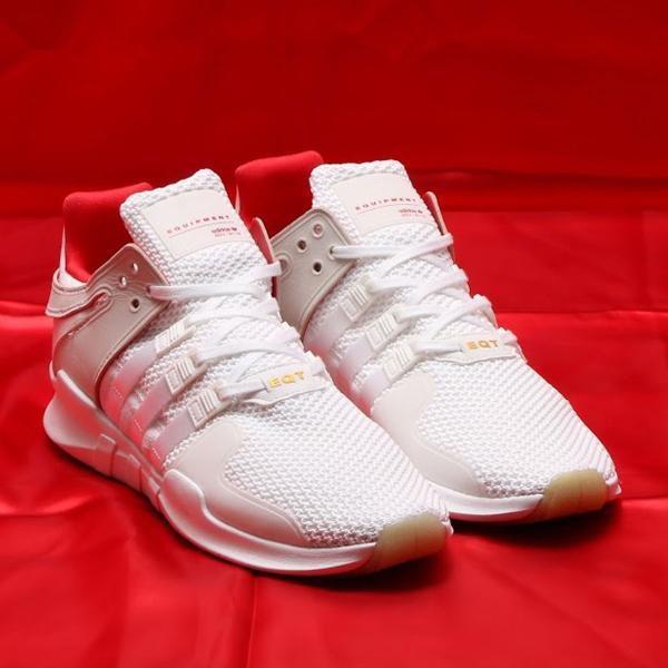 sale retailer bccf6 643b2 adidas Originals EQT SUPPORT ADV CNY (Running White / Running White /  Scarlet) 18SS-I