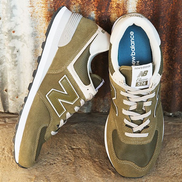 finest selection dccd0 6bc89 ニューバランス New Balance スニーカー ML574EGO (OLIVE) 18SP ...