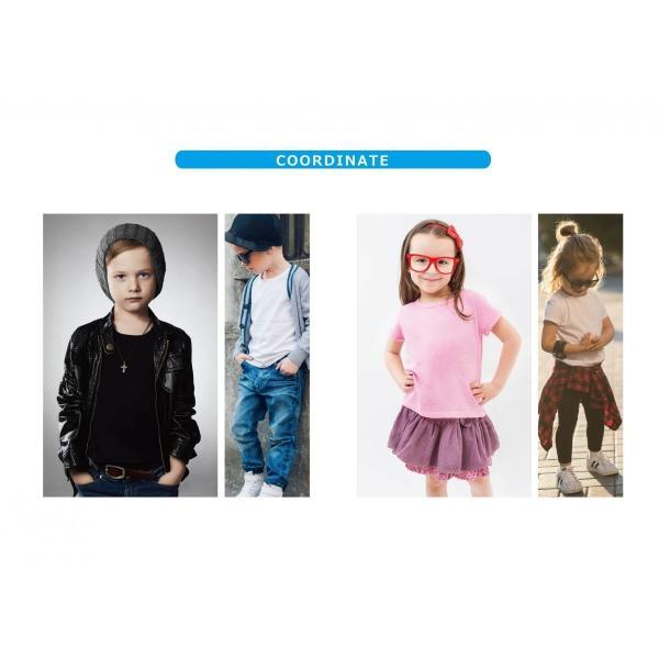 子供 半袖 Tシャツ 無地 ACE 5.4oz ホワイト ブラック グレー KIDS キッズ|chara-basket|03
