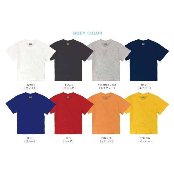 子供 半袖 Tシャツ 無地 ACE 5.4oz ホワイト ブラック グレー KIDS キッズ|chara-basket|08