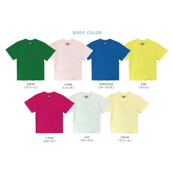 子供 半袖 Tシャツ 無地 ACE 5.4oz ホワイト ブラック グレー KIDS キッズ|chara-basket|09