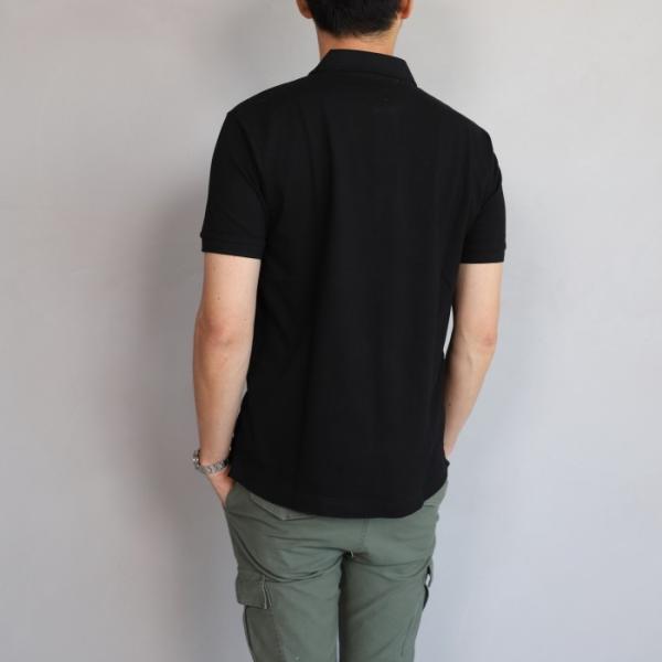 SALE 40%OFF マークゴンザレス ポロシャツ Mark Gonzales   ワンポイント刺繍 犬 ダルメシアン ブラック Polo BLACK 2019春夏新作|charger|03