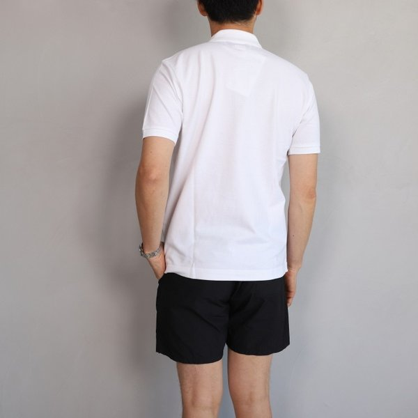 SALE 40%OFF マークゴンザレス ポロシャツ Mark Gonzales ワンポイント刺繍 犬 ダルメシアン ホワイト Polo WHITE 2019春夏新作|charger|02