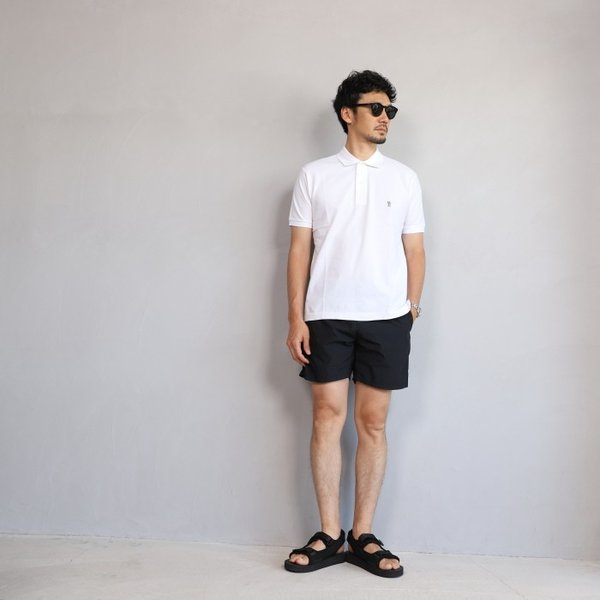 SALE 40%OFF マークゴンザレス ポロシャツ Mark Gonzales ワンポイント刺繍 犬 ダルメシアン ホワイト Polo WHITE 2019春夏新作|charger|04