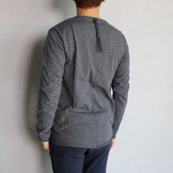 wjk カットソー ダブルジェイケイ 2-ply クルーネック L/S Tシャツ  2-ply CREW NECK L/S T チャコール charcoal 2019秋冬新作|charger|04