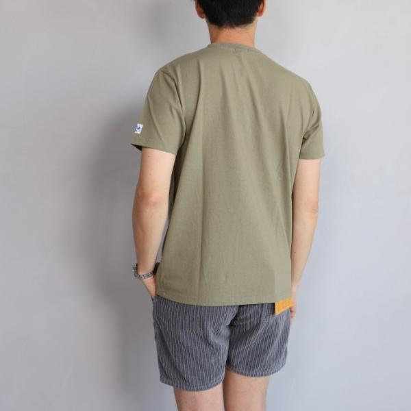 テス ザエンドレスサマー Tシャツ TES THE ENDLESS SUMMER ツマミ 刺繍Tシャツ カーキ 'TUMAMI' EMB TEE KHAKI 2019春夏新作|charger|02