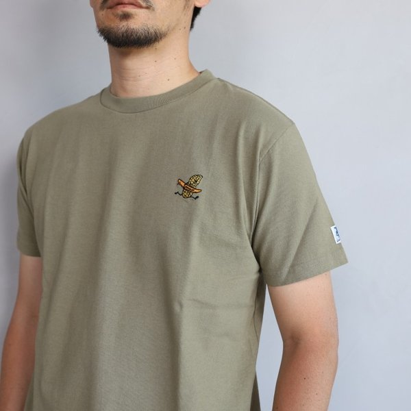 テス ザエンドレスサマー Tシャツ TES THE ENDLESS SUMMER ツマミ 刺繍Tシャツ カーキ 'TUMAMI' EMB TEE KHAKI 2019春夏新作|charger|03