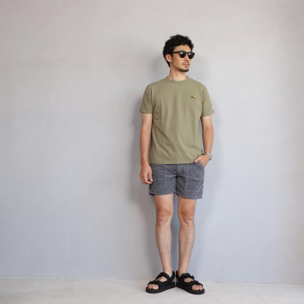 テス ザエンドレスサマー Tシャツ TES THE ENDLESS SUMMER ツマミ 刺繍Tシャツ カーキ 'TUMAMI' EMB TEE KHAKI 2019春夏新作|charger|04