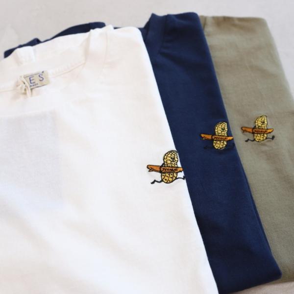 テス ザエンドレスサマー Tシャツ TES THE ENDLESS SUMMER ツマミ 刺繍Tシャツ カーキ 'TUMAMI' EMB TEE KHAKI 2019春夏新作|charger|05