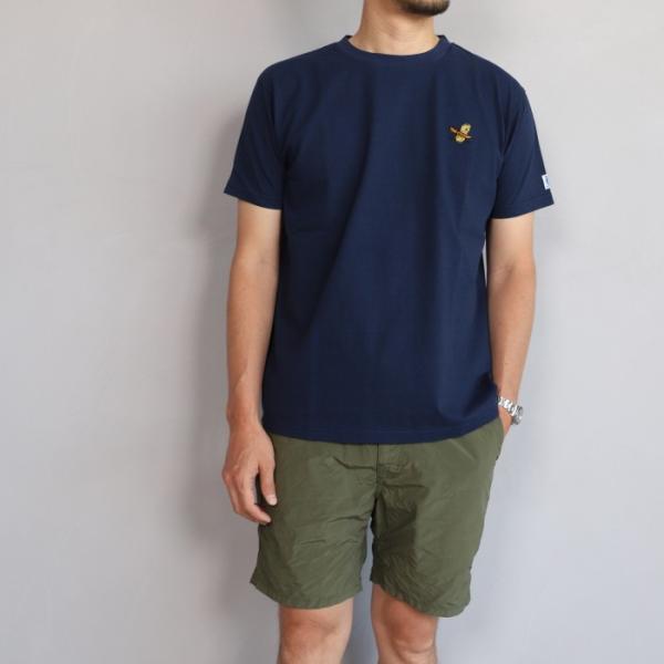 テス ザエンドレスサマー Tシャツ TES THE ENDLESS SUMMER ツマミ 刺繍Tシャツ ネイビー 'TUMAMI' EMB TEE NAVY 2019春夏新作|charger