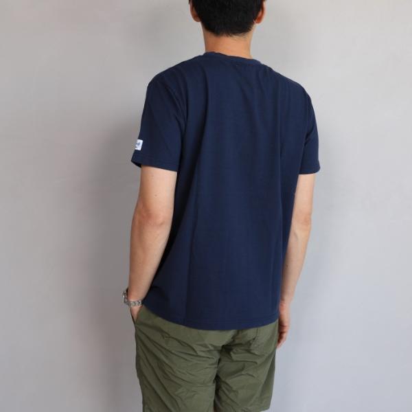 テス ザエンドレスサマー Tシャツ TES THE ENDLESS SUMMER ツマミ 刺繍Tシャツ ネイビー 'TUMAMI' EMB TEE NAVY 2019春夏新作|charger|02