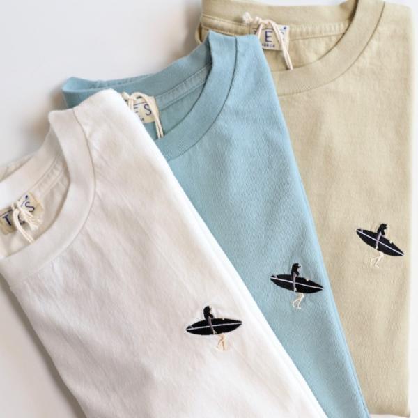 テス ザエンドレスサマー Tシャツ TES THE ENDLESS SUMMER ベティ ブラック刺繍 Tシャツ ホワイト SHRED BETTY BLACK EMB TEE WHITE 2019春夏新作 charger 05