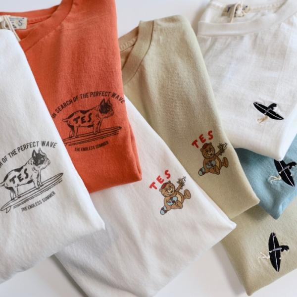 テス ザエンドレスサマー Tシャツ TES THE ENDLESS SUMMER ベティ ブラック刺繍 Tシャツ ホワイト SHRED BETTY BLACK EMB TEE WHITE 2019春夏新作 charger 06