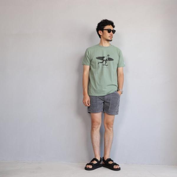 テス ザエンドレスサマー Tシャツ TES THE ENDLESS SUMMER ローカル サーフ バム Tシャツ グリーングレー LOCAL SURF BUM TEE GREEN GRAY 2019春夏新作 charger 04