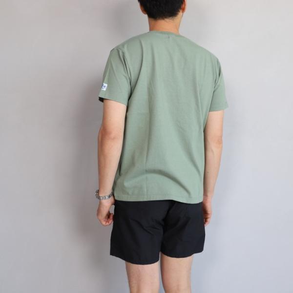 テス ザエンドレスサマー Tシャツ TES THE ENDLESS SUMMER マリブスター A Tシャツ グリーン グレー MALIBU STAR-A TEE GREEN GRAY 2019春夏新作|charger|03