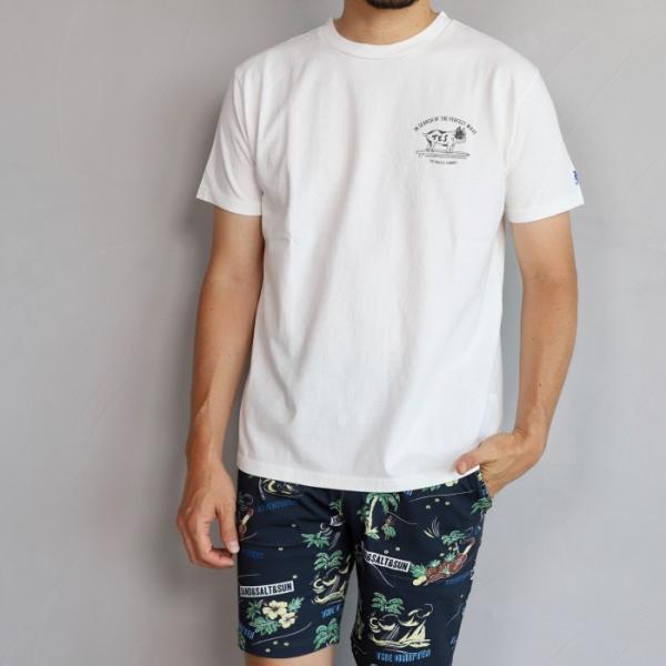 テス ザエンドレスサマー Tシャツ TES THE ENDLESS SUMMER ブヒTシャツ ホワイト BUHI TEE WHITE 2019春夏新作|charger