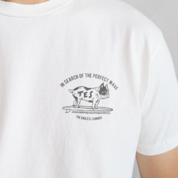 テス ザエンドレスサマー Tシャツ TES THE ENDLESS SUMMER ブヒTシャツ ホワイト BUHI TEE WHITE 2019春夏新作|charger|03