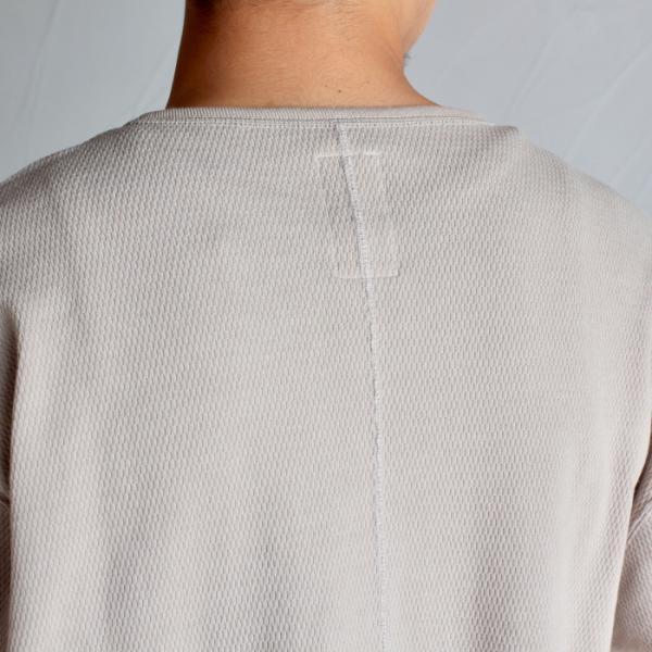 クロ カットソー KURO ハニカム ロングスリーブ Tシャツ HONEYCOMB L/S TEE ベージュ BEIGE 2019秋冬新作|charger|10