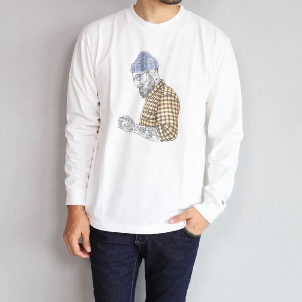テス ザエンドレスサマー ロンT TES THE ENDLESS SUMMER マリブ スター ロングスリーブTシャツ MALIBU STAR L/S T-SHIRT ホワイト WHITE 2019秋冬新作 charger 06