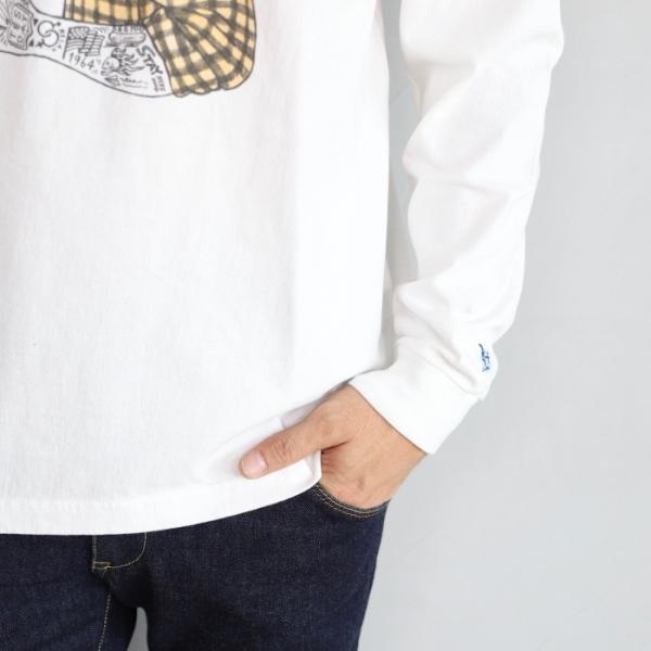 テス ザエンドレスサマー ロンT TES THE ENDLESS SUMMER マリブ スター ロングスリーブTシャツ MALIBU STAR L/S T-SHIRT ホワイト WHITE 2019秋冬新作 charger 08