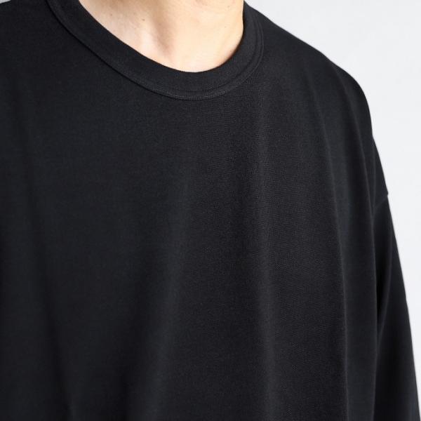 alvana カットソー アルヴァナ PARECOOL DROWCODE L/S TEE SHIRTS ペアクール ドローコード ロングスリーブ Tシャツ BLACK ブラック 2019秋冬新作 charger 02