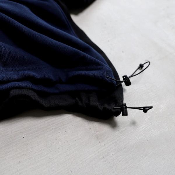 alvana カットソー アルヴァナ PARECOOL DROWCODE L/S TEE SHIRTS ペアクール ドローコード ロングスリーブ Tシャツ BLACK ブラック 2019秋冬新作 charger 06