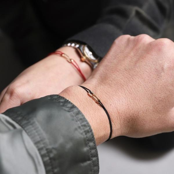 シンパシーオブソウル ブレスレット SYMPATHY OF SOUL Safety Pin Cord Bracelet  K18YG w/Diamond セーフティーピンコード K18YG w/ダイヤモンド|charger|02