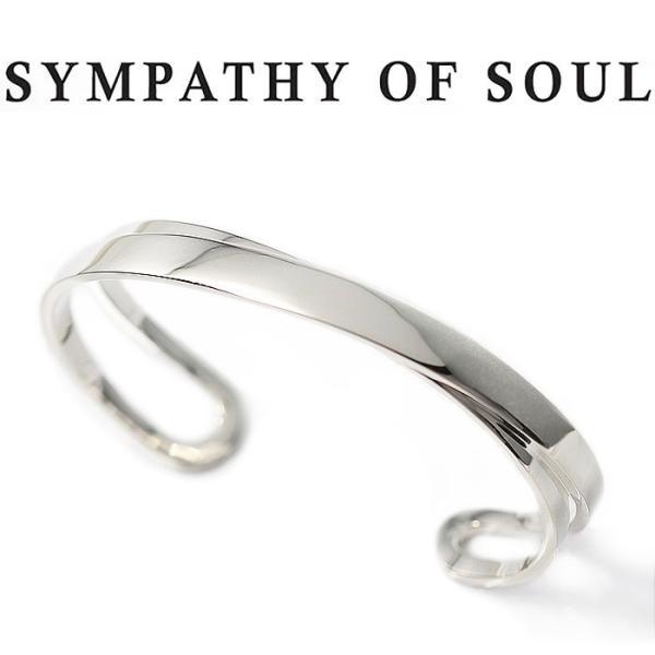 シンパシーオブソウル バングル SYMPATHY OF SOUL Infinity Bangle Silver インフィニティ バングル シルバー|charger