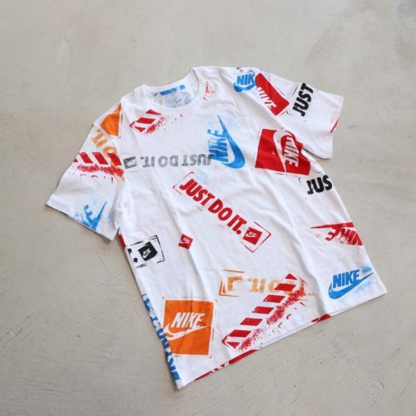 ナイキ Tシャツ NIKE プリント Tシャツ ホワイト NIKE NSW REMIX 5 TEE WHITE 2019春夏新作|charger