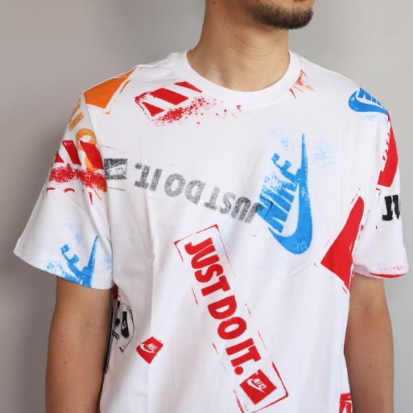 ナイキ Tシャツ NIKE プリント Tシャツ ホワイト NIKE NSW REMIX 5 TEE WHITE 2019春夏新作|charger|03