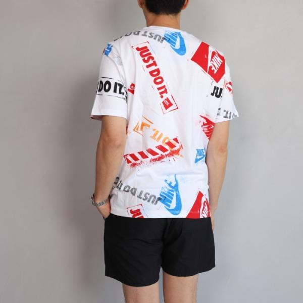 ナイキ Tシャツ NIKE プリント Tシャツ ホワイト NIKE NSW REMIX 5 TEE WHITE 2019春夏新作|charger|04