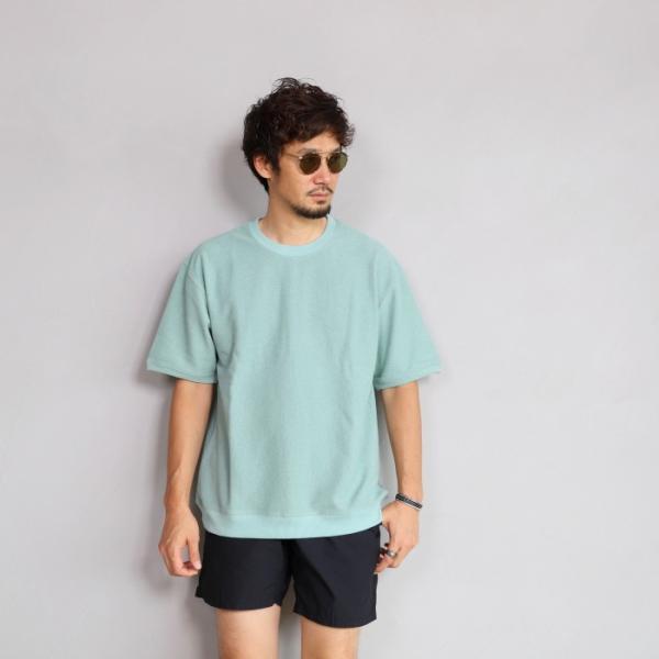 CHARGER Tシャツ チャージャー オリジナル パイル プルオーバー カットソー メンズ ミント 2019春夏新作|charger