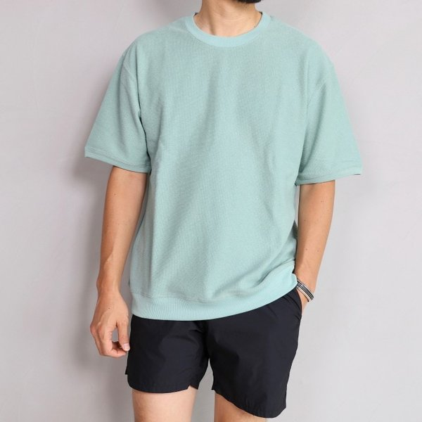 CHARGER Tシャツ チャージャー オリジナル パイル プルオーバー カットソー メンズ ミント 2019春夏新作|charger|02