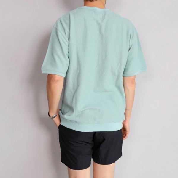 CHARGER Tシャツ チャージャー オリジナル パイル プルオーバー カットソー メンズ ミント 2019春夏新作|charger|03