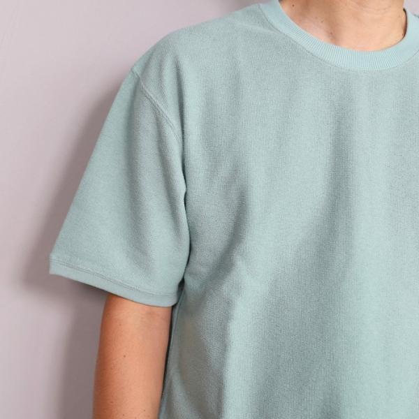 CHARGER Tシャツ チャージャー オリジナル パイル プルオーバー カットソー メンズ ミント 2019春夏新作|charger|04