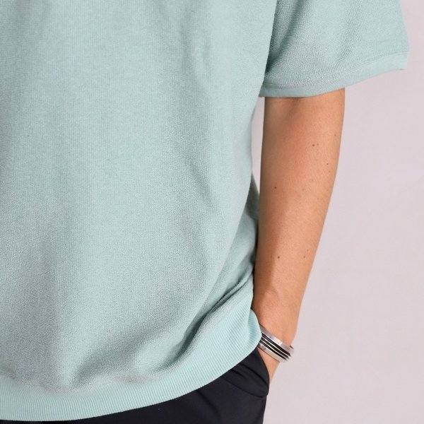 CHARGER Tシャツ チャージャー オリジナル パイル プルオーバー カットソー メンズ ミント 2019春夏新作|charger|05