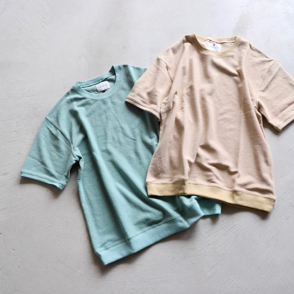 CHARGER Tシャツ チャージャー オリジナル パイル プルオーバー カットソー メンズ ミント 2019春夏新作|charger|09