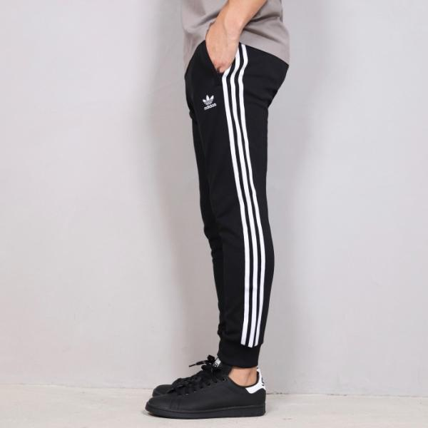 アディダスオリジナルス ジャージ adidas originals メンズレディース SST TRACK PANTS  3ストライプ トラックパンツ ブラック ホワイト 2019秋冬新作|charger|03