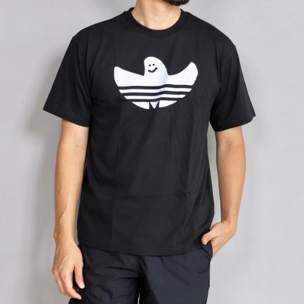 アディダスオリジナルス マークゴンザレス コラボ Tシャツ adidas originals  SHMOO TEE BLACK WHITE シュムー Tシャツ ブラック 2019秋冬新作|charger|02